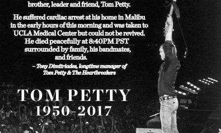 RIP Tom Petty 1950-2017
