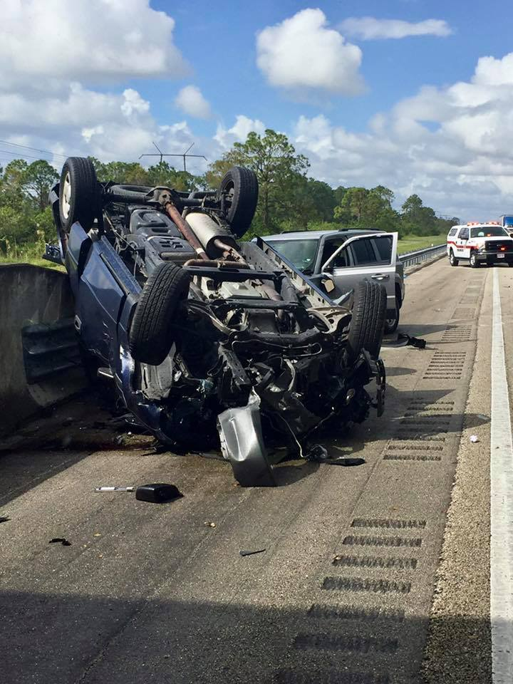 Multiple motor vehicle accidents in St Lucie County Sunday