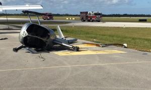 Helicopter Crash at Treasure Coast International