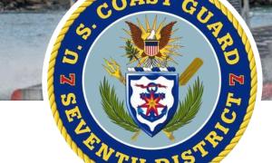 Coast Guard rescues 2 people, 2 dogs from vessel near Cudjoe Key