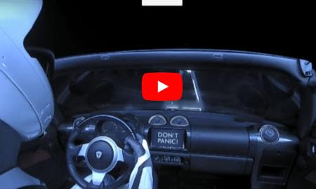 Musk's Telsa Roadster on way to asteroid belt