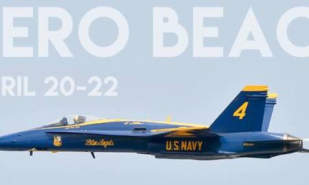 U.S. Navy's Blue Angels Are Back For The 2018 Vero Beach Air Show This Weekend
