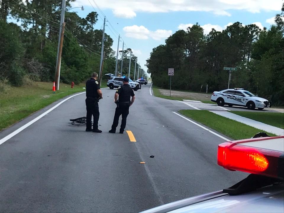 PSLPD investigating fatal crash; car vs. bicycle, SW Rosser Blvd