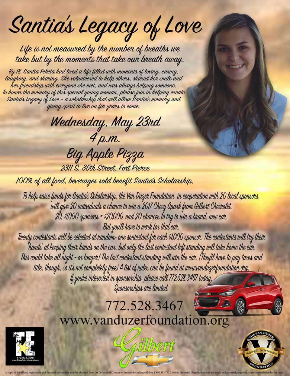 Fundraiser honors life of teen killed in wrong-way crash