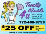 Trusty Maids 4 U Cleaning Service