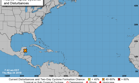 Special Tropical Weather Outlook May 24, 2018