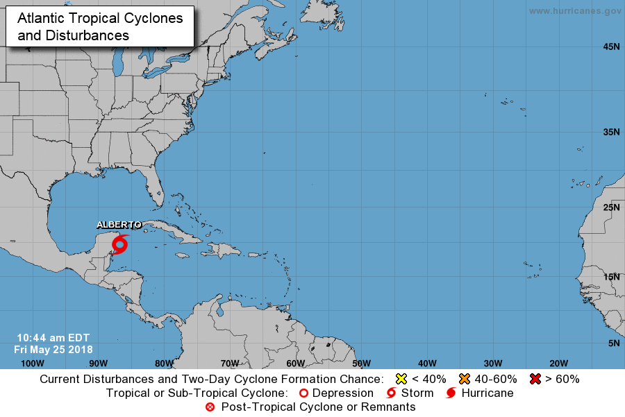 Tropical Disturbance May Become a Tropical Depression