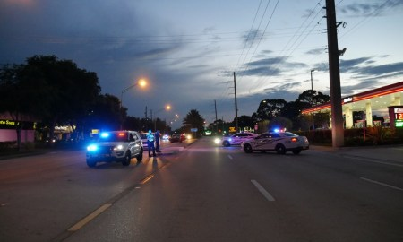 photo: psl police Port St Lucie Police investigating fatal crash in the 200 block of SW PSL Boulevard