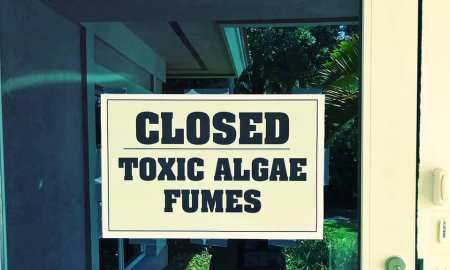 Toxic Algae continues to roll into Martin County