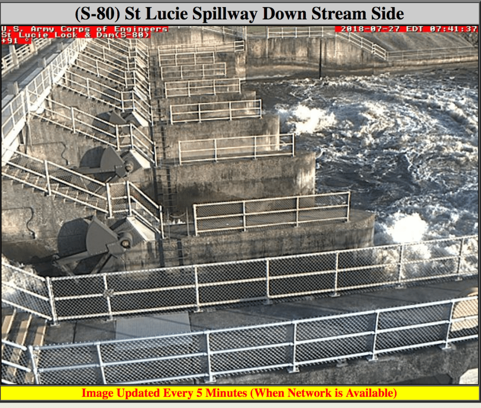 Lake O discharges resume