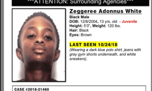 PSL Police looking for Missing Juvenile