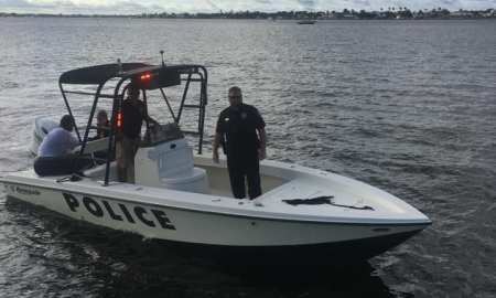 Stuart Police save young couple tossed into St Lucie River