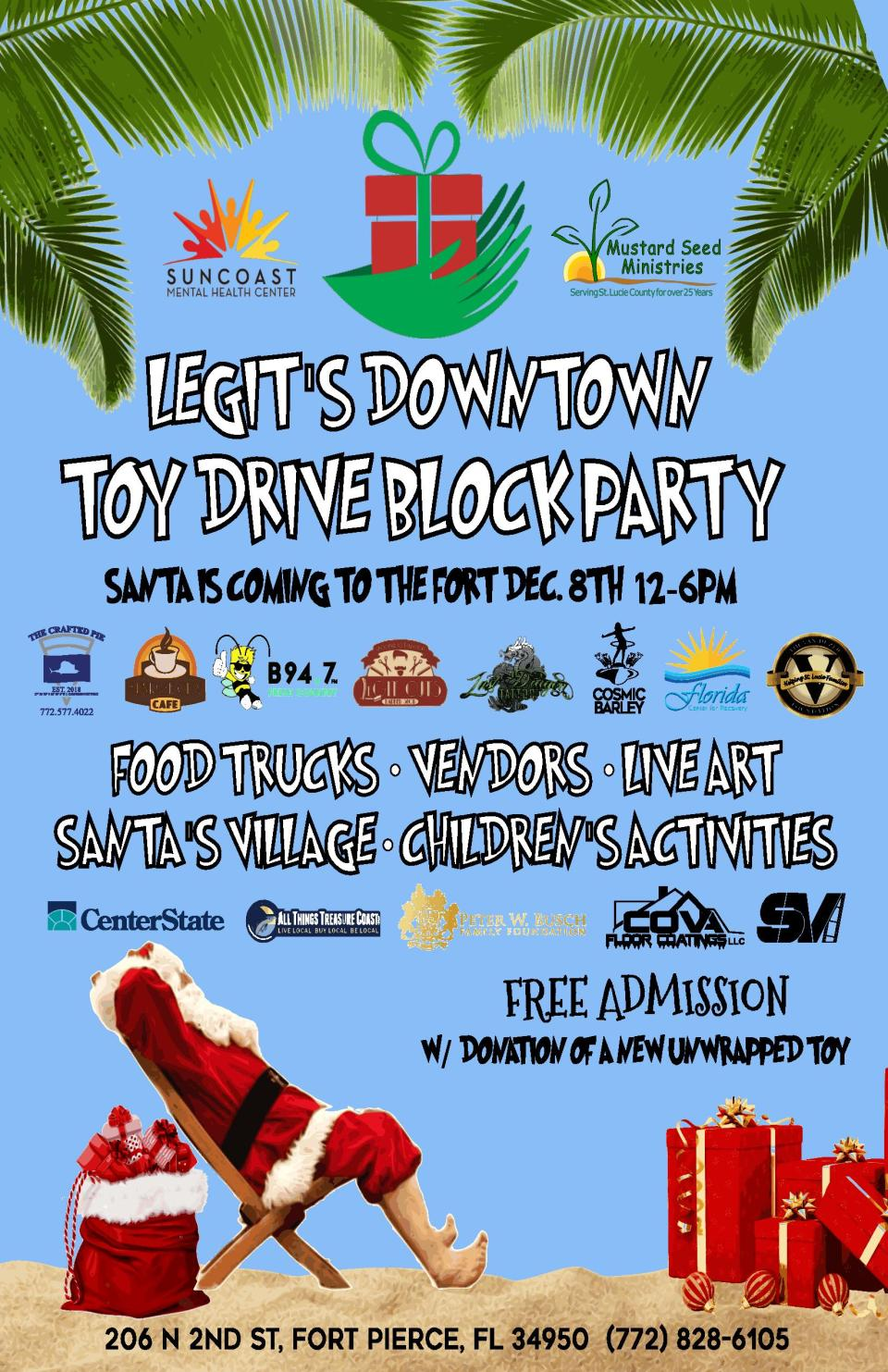 Toy Drive Block Party