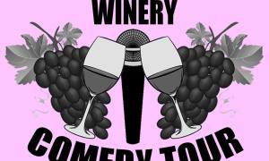 "Win two tickets to ""Winery Comedy Tour"" at Summer Crush Winery!"