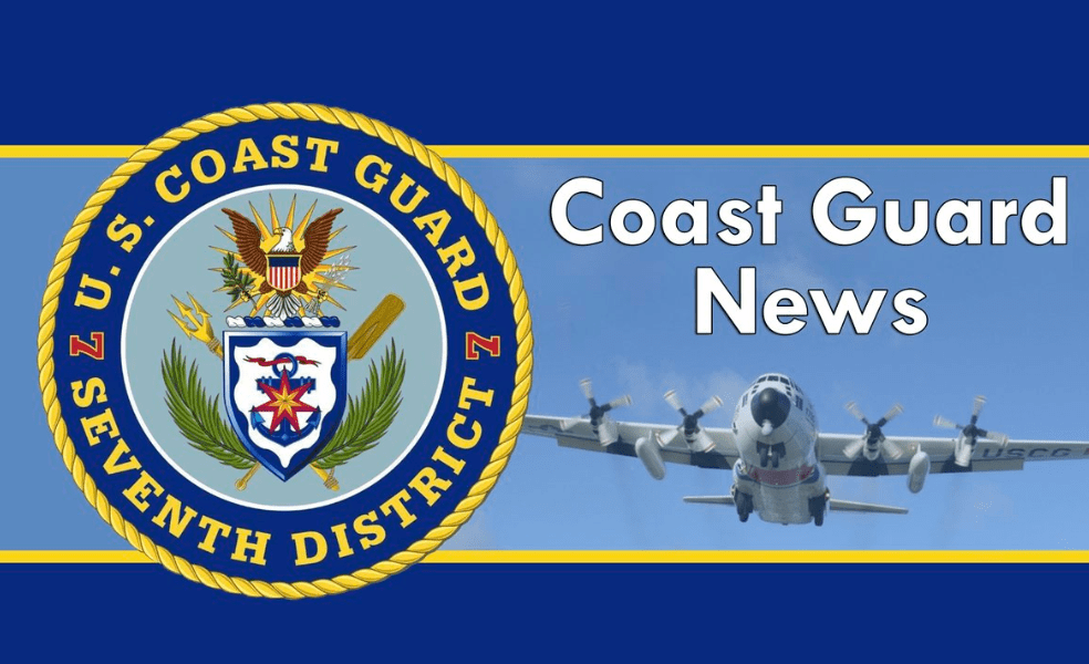 Coast Guard searching for a missing fisherman 300 miles east of Cape Canaveral