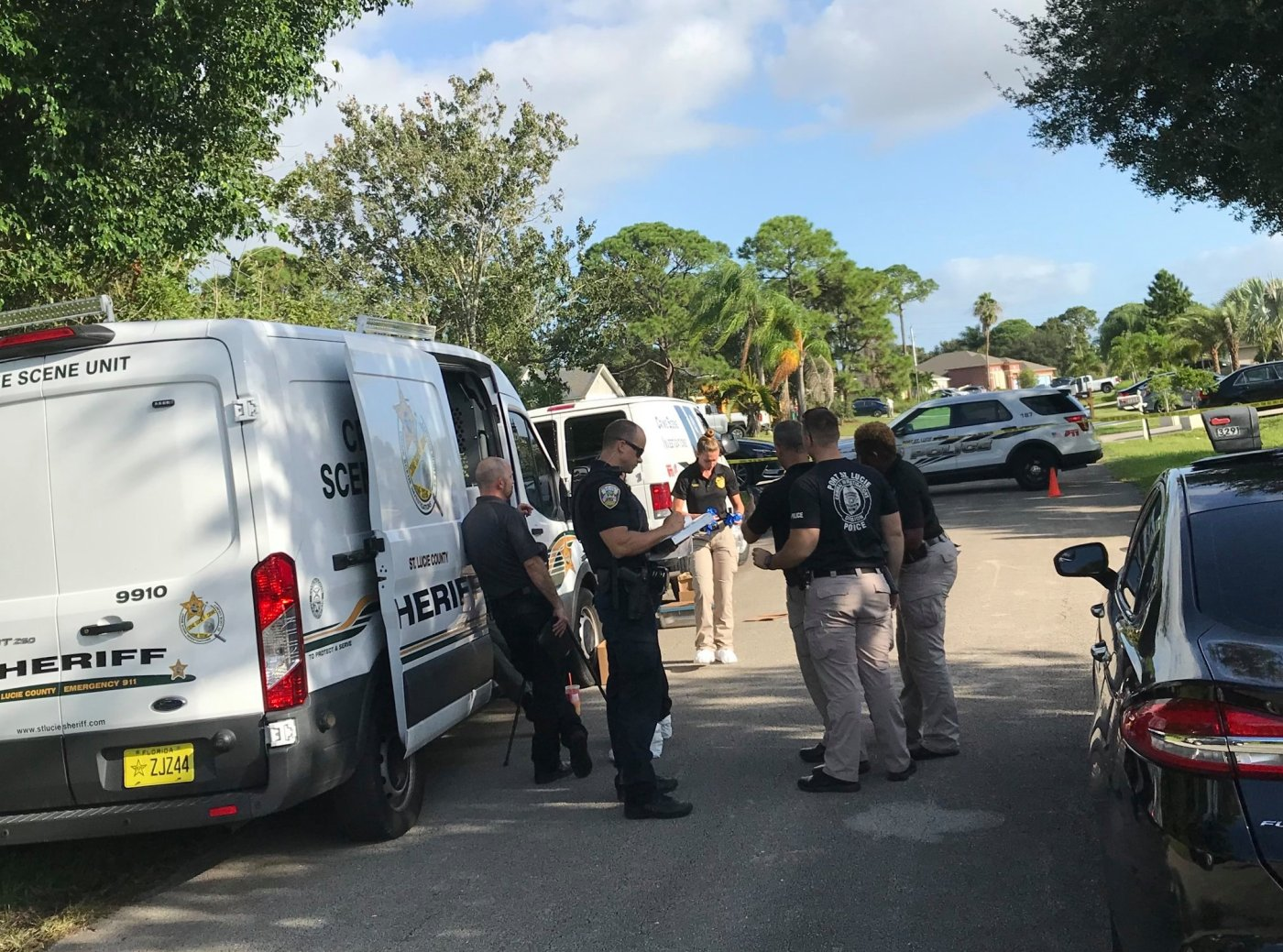 Port St. Lucie Police investigating a Double Murder, Suicide at SW Constellation Road