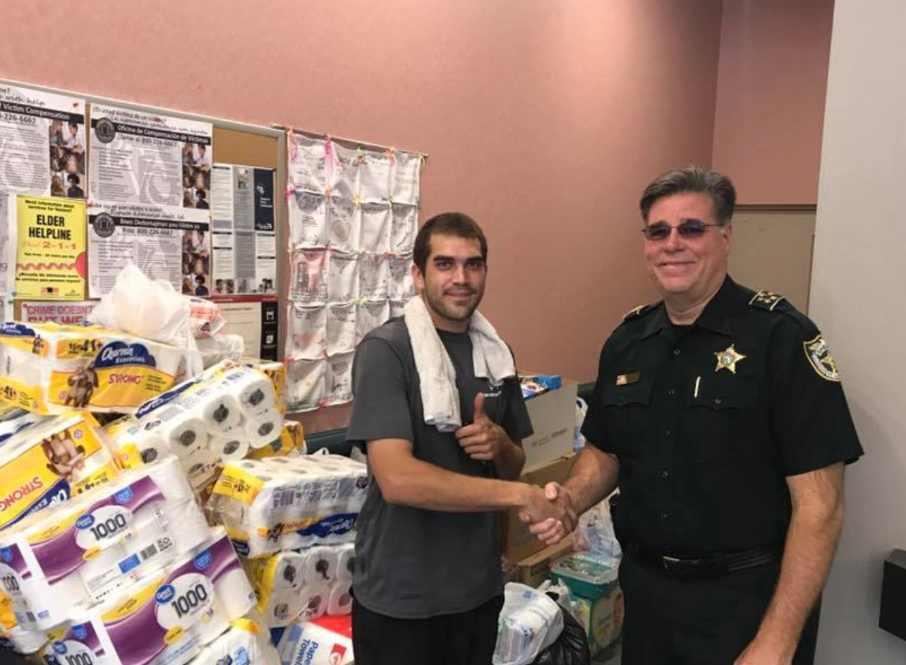 St Lucie County Sheriff's Office has partnered with Missionary Flights International to get supplies over to the islands.