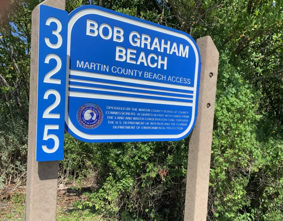 Two people found shot to death at Bob Graham Beach