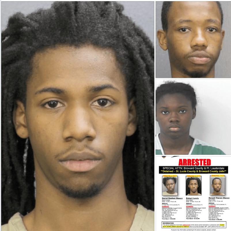 Thirty Auto-Burglary cases investigated