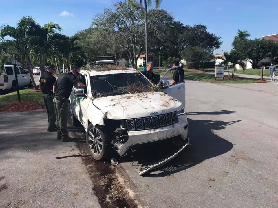 Suspect in custody after assaulting deputies, ramming vehicles in Martin County