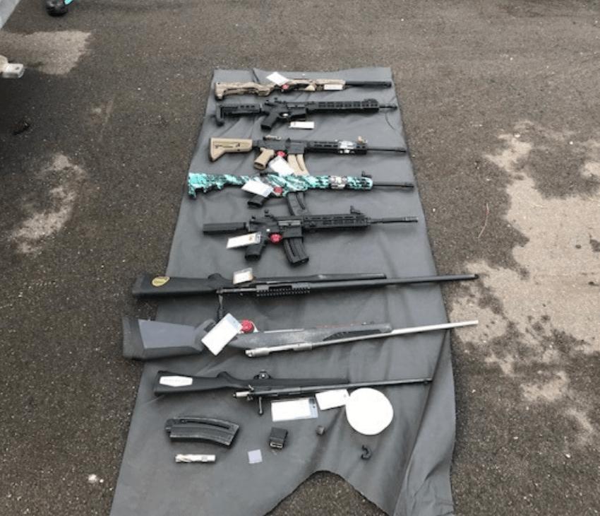 Bass Pro Shop Gun Burglary