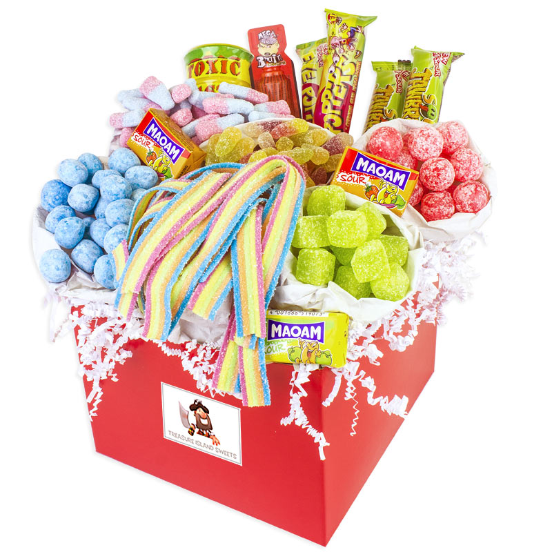 Mega Sour Sweet Hamper Wouldnt You Just Love To Receive