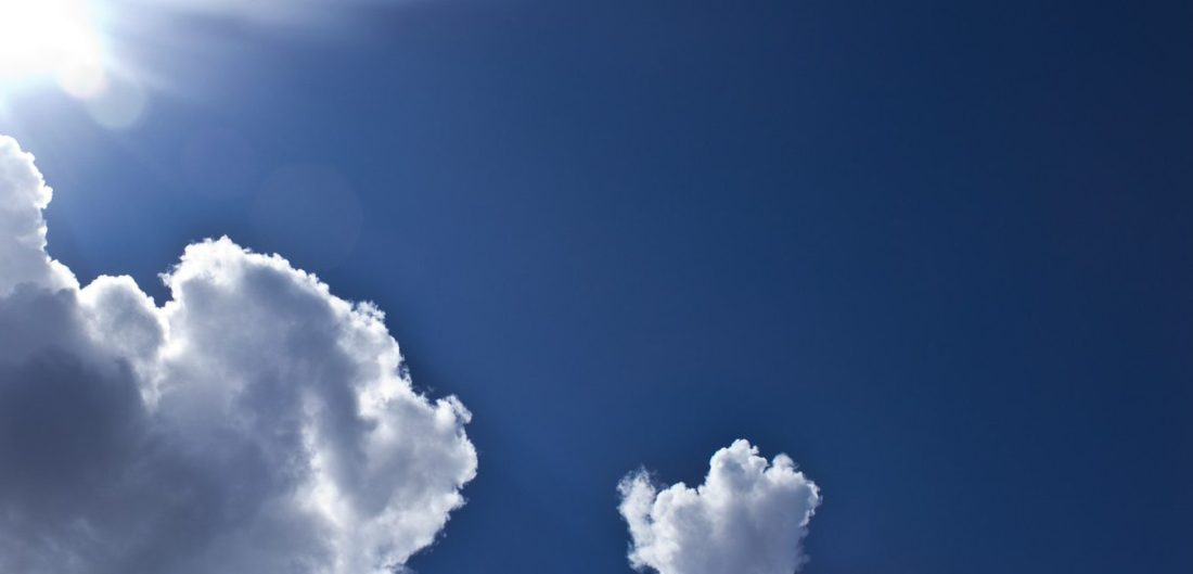 My 167th Birthday the day dawned with an impossibly blue sky