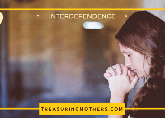 problem-solving mother, interdependence