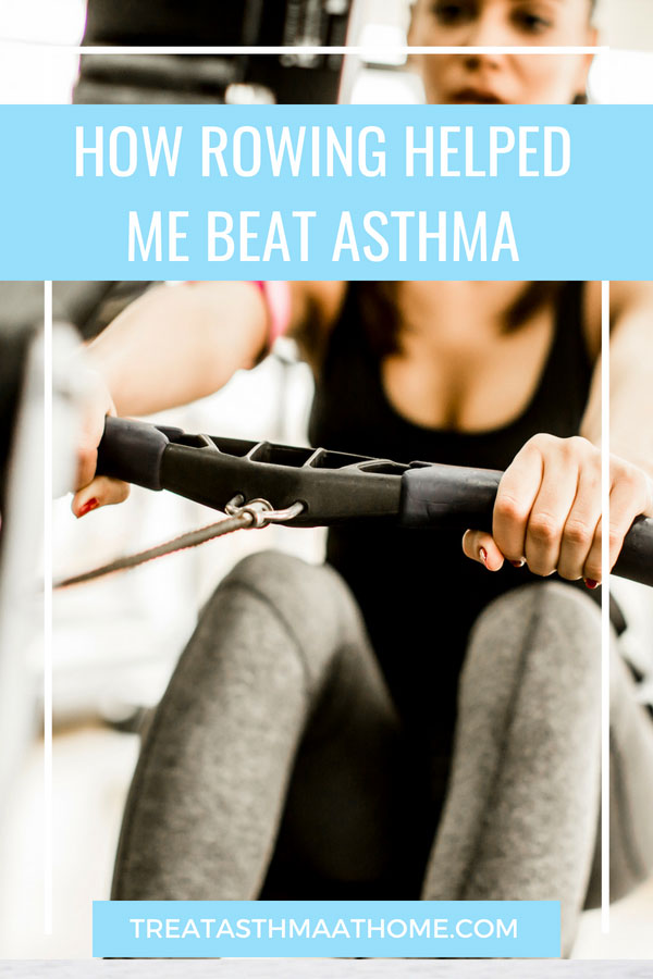 rowing and asthma pinterest graphic