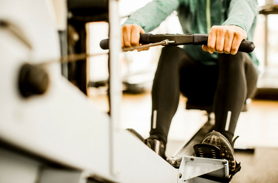 using a rowing machine with asthma