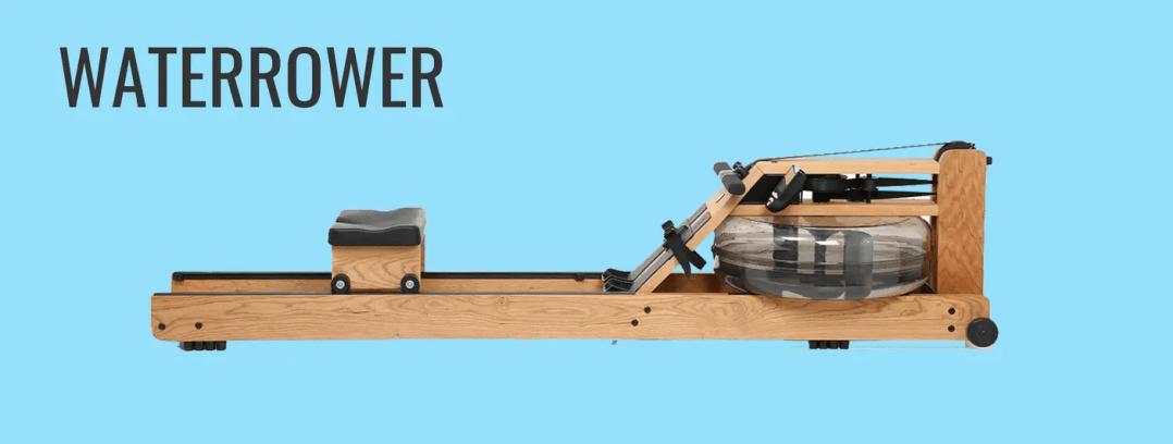 waterrower rowing machine graphic