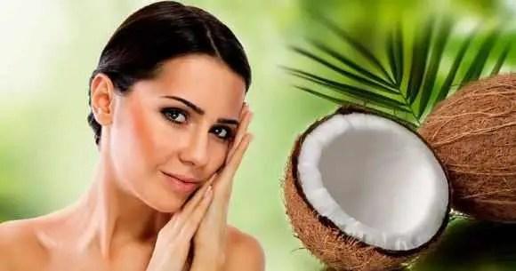 Coconut oil for chicken skin