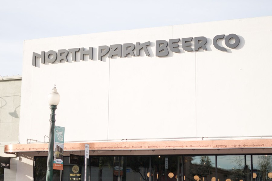 where to eat and drink in San Diego, travel guide, food blog, Treats and Trends, north park beer co