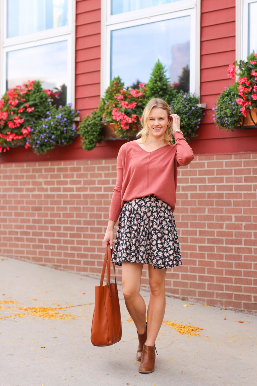 fashion blog, fall outfit, fall fashion, fashion blog, Treats and Trends, Jamie Kamber, Pinterest Outfit
