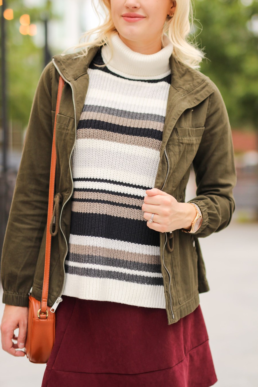 sleeveless sweater, style tip, fashion blog, Treats and Trends, fall fashion, Abercrombie & Fitch