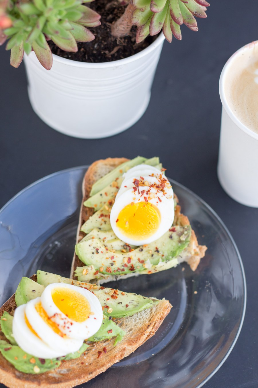 where to eat and drink in San Diego, travel guide, food blog, Treats and Trends, commual coffee, coffee and flowers, avocado toast
