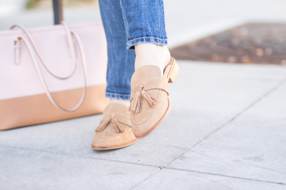 How To Wear Flat Mules During The Winter