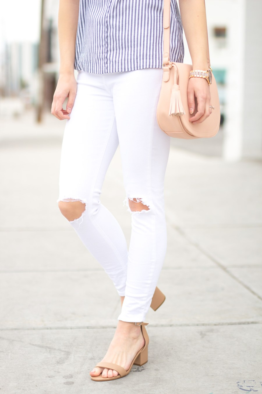 The Best Spring Sandals Under $100, Steve Madden Irenee sandal, fashion blog, Treats and Trends