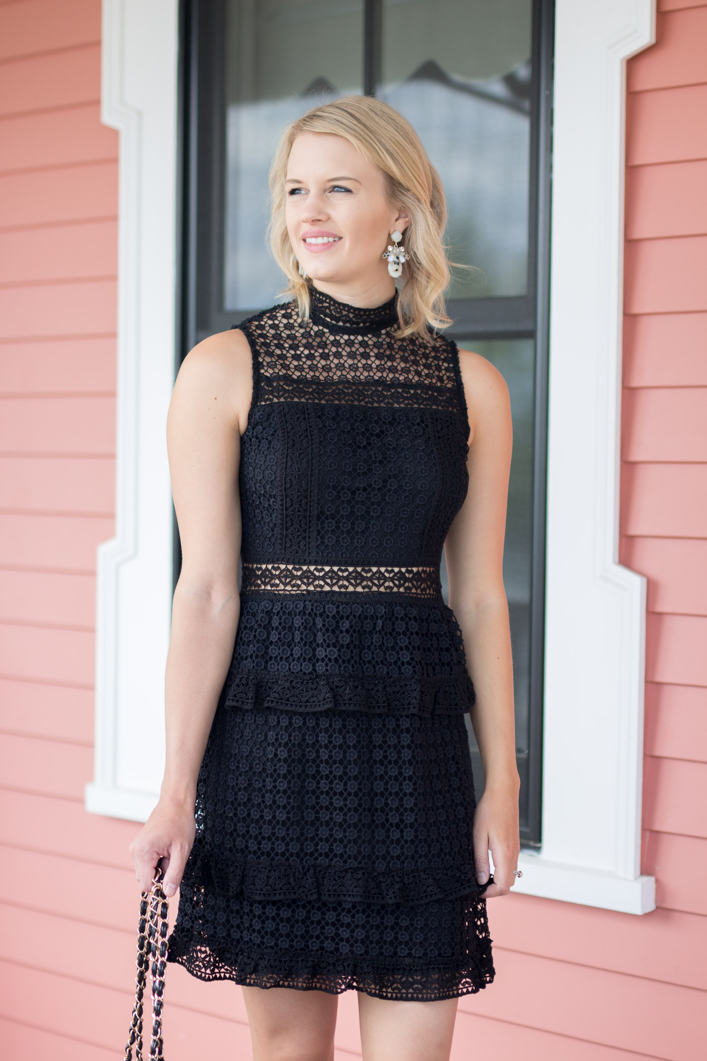 The Perfect Little Black Dress For Wedding Season
