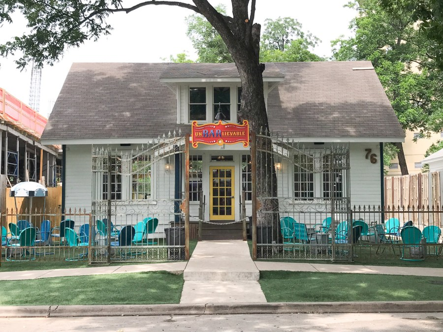 Austin, Texas Travel Guide, travel blogger, Rainey Streets bars