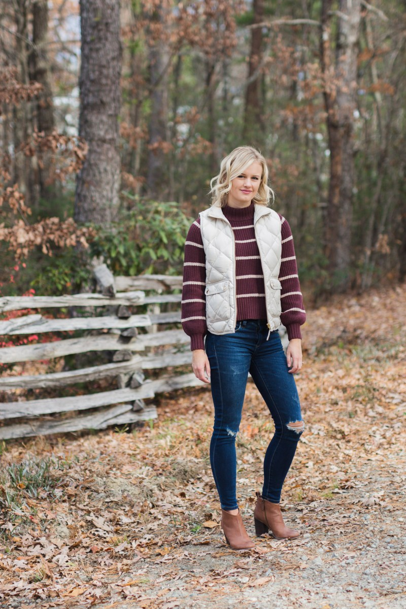 How To Style the J.Crew Excursion Vest
