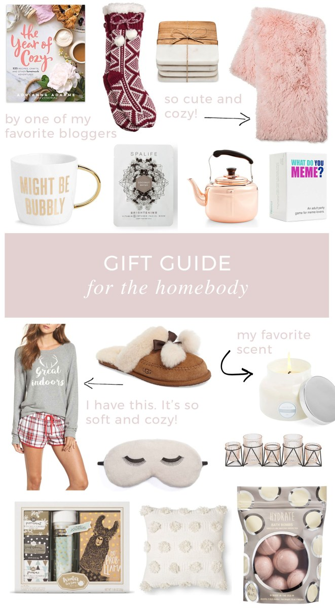Gift Ideas for the Homebody 2017