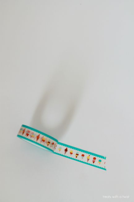 Sprinkles of Real Life // sprinkle washi tape// treatswithatwist.com