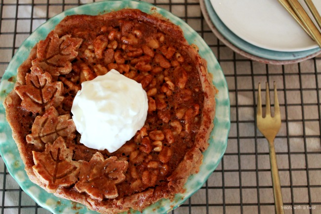 Salted Maple Walnut Pie 3