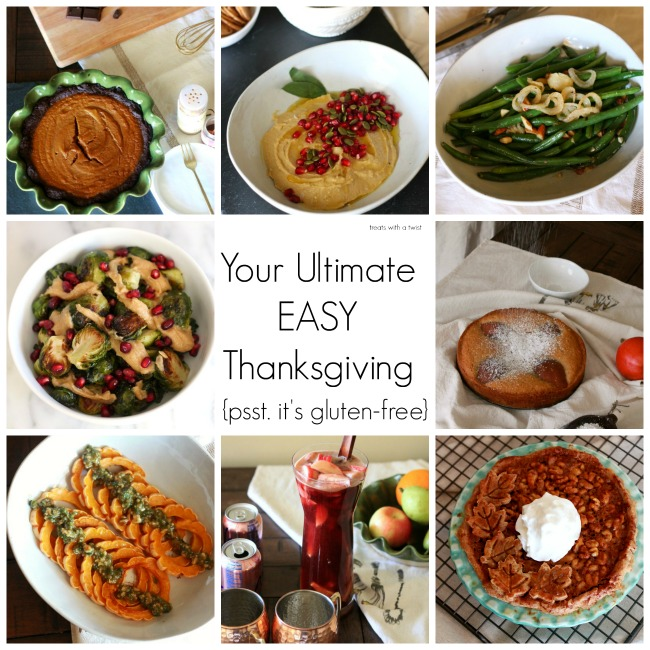Your Ultimate EASY Gluten Free Thanksgiving // treatswithatwist.com