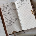 How I Got Organized with Bullet Journaling // treatswithatwist.com