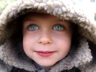 eyes girl face youth