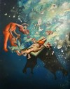 A picture of You Can Make It Drink, Tom de Freston, 2013, oil on canvas, 200 x 150cm