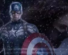 A poster for Captain America 2