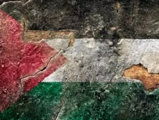 Palestine flag by Freedigital/domdeen